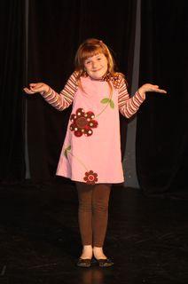 Kaitlyn showcase stage