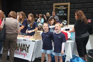 Broadway Workshop greeters