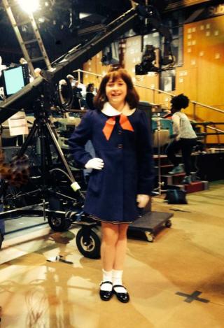 Kaitlyn SNL studio